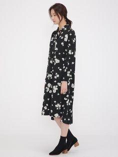 Romantic Flower Maxi Dress - $86.00