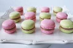 I have been wanting to try a macaron for a very long time. I see them in beautiful styled party photos online. I've read other blogger...
