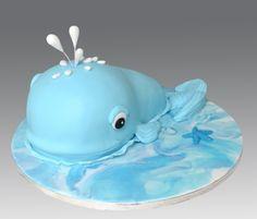 Whale Cake - Tyler's birthday!