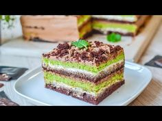 Prăjitură After Eight - After Eight Cake After Eight, Something Sweet, Caramel, Cheesecake, Sweets, Cookies, Desserts, Youtube, Food