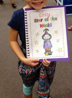 Star of the week booklet {freebie}