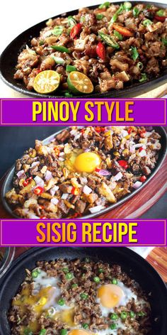 How to Make Pinoy Sizzling Sisig. Recipe Inside