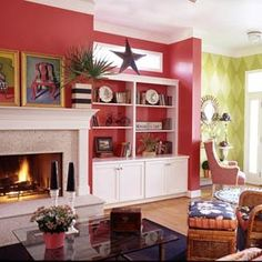 Modern Furniture: Decorating in Red