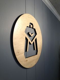laser cut wood sign
