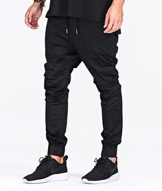 Men Drop Crotch Joggers Pants- -zanerobe style Dropshots pants Cheap!!  22.9USD