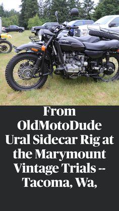 Sidecar, Sport Bikes, Custom Bikes, Cool Bikes, Trials, Shark, Motorcycles, Fun, Vintage