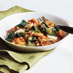Tomato and Mozarralla Risotto: http://www.myrecipes.com/recipe/tomato-mozzarella-risotto-50400000123591/