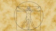 El hombre matemático vitruviano de Da Vinci - James Earle