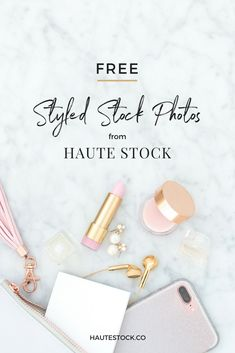 Grab your FREE styled stock photo sample pack from Haute Stock and use the images to create pin-worthy blog post graphics, a beautiful social media feed, website headers and so much more!