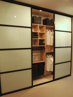 How About This Awesome Custom Closet System By California Closets With  These Beautiful Sliding Doors?