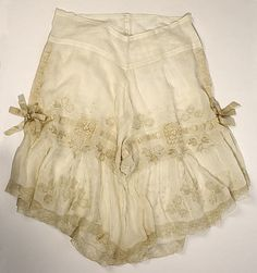 Underpants (Drawers)  Date: 1900s Culture: American or European