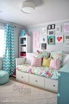I Love This Bedroom Idea For A Tween Or Teen Girls Bedroom.