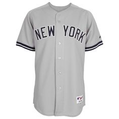 a8df149b6 Ikes Baseball New York Yankees 2013 Road Authentic MLB Jersey