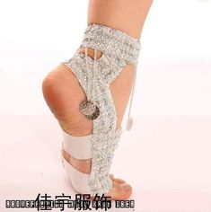 Fashion Women Belly Dancing Performance Crystal Hanging Coin Shoes Gold Silver | eBay