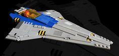 LEGO MOC | LL111x NOZ #classic #space