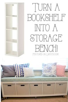20 ways to repurpose furniture you may all ready have.