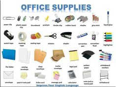 #office #supplies in #english.