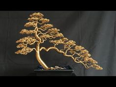 "Figure out more details on ""metal tree wall decor"". Have a look at our internet site. Metal Tree Wall Art, Metal Art, Copper Wire Art, Bonsai Wire, Wire Tree Sculpture, Wire Sculptures, Tree Wall Decor, Art Decor, Tree Artwork"