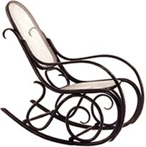 Bentwood rocker, 1800 - rocking chair history