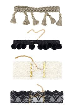 Handmade Luxe Chokers made with 14K Gold finishings. Free shipping on all U.S. orders.