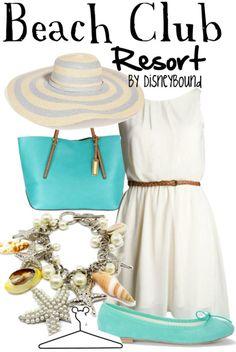 Beach Club Resort Outfit by Disneybound