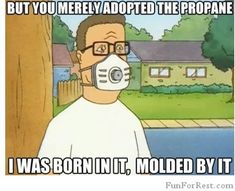 Hank Hill as Bane. Hank Hill Memes, Notting Hill Quotes, Reddit Funny, Surviving In The Wild, King Of The Hill, Funny Moments, Best Funny Pictures, Dankest Memes, Jokes