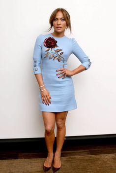 Jennifer Lopez Dolce Gabbana Invierno 2015 2016 2