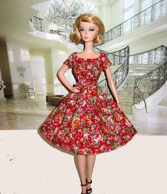 Mad Men Betty Drapper Rose Dress
