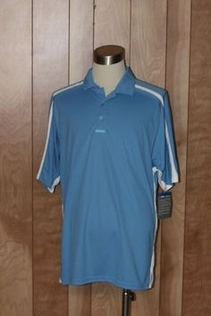 MEN'S RUSSELL ATHLETIC DRI-POWER POLO SHIRT-SIZE: XL #RUSSELLATHLETIC #PoloRugby