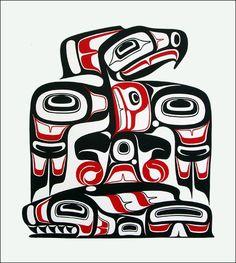 Haida Tattoo's on Pinterest | Haida Tattoo, Haida Art and Tlingit