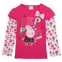 Polera manga larga flores Peppa Pig, tallas 18 meses a 6 años, valor 8.990 Peppa Pig, Christmas Sweaters, Fashion, Girls Dresses, Little Girl Clothing, 18 Months, Hot Pink, Long Sleeve, Sleeves