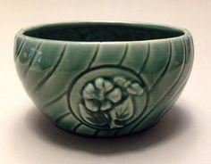 Brush McCoy Pottery Small Green Bowl/Planter #692