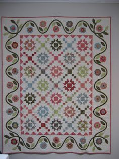 great border...a pattern made up by happy appliquer