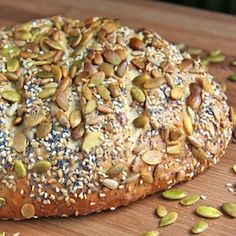 Seeded Oat Bread...from The Cafe Sucre Farine...from her Five Minute Bread recipes...looks so good!