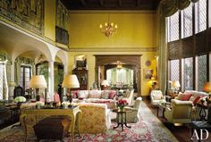 Traditional Living Room by Mark Hampton LLC and James Nigro in New York