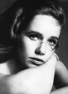 Liv Ullmann photographed by Richard Avedon, 1975