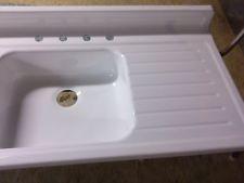 Vintage Enamel Kitchen Sink