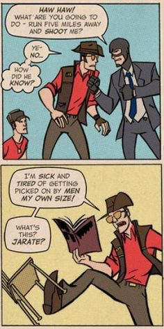 Latest Team Fortress 2 Comic Tells Origins Of Sniper - Hey, remember Team Fortress 2? I think to myself, sometimes. I played that game every day for months, squeezing rounds into lunch breaks and evenings till eventually