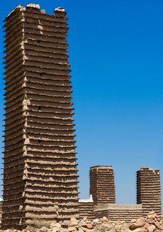 Torres de piedra de Aseer, en el sudeste de Arabia Saudí.