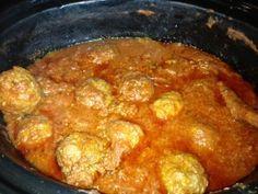Crockpot Paleo Meatballs