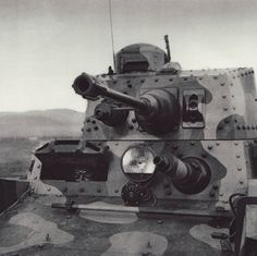 Swiss LTH Light tank. It was an export version of the Czech LT vz. 38, and it was shipped without armament. The Swiss fitted it with a locally-produced 24mm Main Gun and two water-cooled Maxim Machine Guns. The same design was also designated Panzer 38(t) in German inventories after the Munich Agreement.