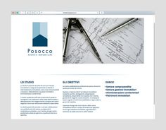 Posocco immobiliare website #okcs #webdesign #web #graphicdesign