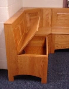 Exciting Corner Bench Kitchen Design Ideas With Amish Trestle Table Kitchen  Breakfast Nook Set