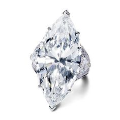 Stunning marquise-cut ring by Graff