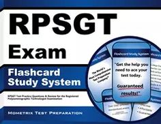 RPSGT Exam Flashcard Study System Guides Tips Help Teas Test