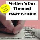 writing essay mother day