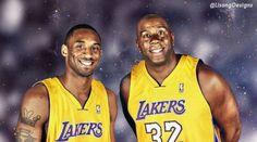 Kobe Bryant & Magic Johnson.