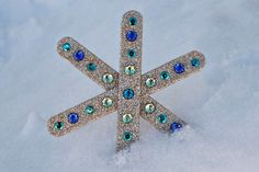 3 Easy snowflake crafts for kids