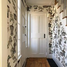 Trim Design Co. | Wallpaper adds instant personality to your home and there are so many great places to find it. We show you brands and styles of wallpaper you might not know about. Consider adding some to your entry or powder room or any room in your home.   #trimdesignco #wallpaper #bonsaiwallpaper #pierrefrey