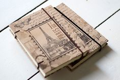 Travel Journal #paris #bookbinding